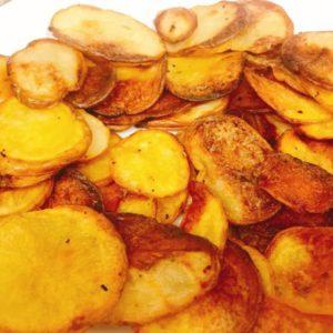 Chilli salt potatoes